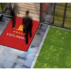 Logomat - Op Maat - Borstelmat